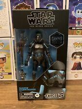 "Star Wars Black Series SHADOW STORMTROOPER 6"" Action Figure Gamestop Exclusive"