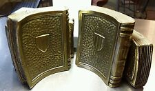 Reduced price $15 Off orig. List Vintage Colonial Virginia Brass Bookends 1965