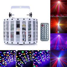 30W 9CH DMX512 RGBW LEd Stage Strobe Light Auto Sound Active KTV Disco Bar Lamp