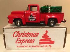 CHRISTMAS EXPRESS 1956 FORD PICKUP  DIECAST ERTL #B967 EASTWOOD AUTOMOBILIA-MIB
