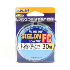 Sunline Siglon FC Fluorocarbon Ligne 30m 1.5lb Diameter 0.1 mm (5679)