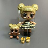LOL Surprise Doll Glitterati Queen Bee Big & Lil Queen Bee Set Toys Ultra Rare