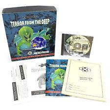 X-COM: Terror from the Deep for IBM PC CD-ROM, Big Box, 1995, Sci-Fi , CIB