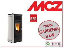 Stufa a pellet RED ( MCZ ) mod. GARDENIA - pellet stove - potenza 8 kW