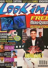 Look-In Magazine 16 November 1991    Marky Mark    Billy Warlock    Alan Shearer
