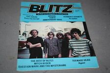 BLITZ THE R´n´ROLL MAG FOR THINKING PEOPLE# 55 -  THE VIPERS COVER (1985)