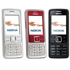 Original Nokia 6300 Bluetooth MP3 Java Mobile Phone Unlocked Bar 2MP Hebrew