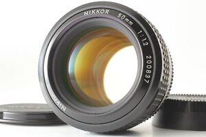【MINT】 Nikon Ai Nikkor 50mm f/1.2 Standard Prime MF Lens From JAPAN