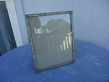 vintage green mother of pearl picture photo frame 8 x 10