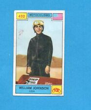 CAMPIONI SPORT 1969-70-PANINI-Figurina n.432- JOHNSON -USA-MOTOCICLISMO-Rec