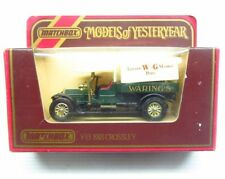 * 1980s * Matchbox Yesteryear * 1918 Crossley Van * W & G Warings * Y-13 * MIB