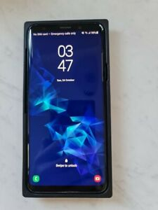 Samsung Galaxy S9+ SM-G965 - 64GB - Coral Blue all accessories