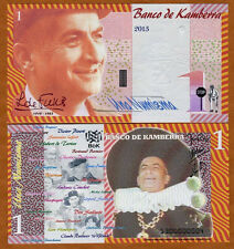 Kamberra, Kingdom, 1 Numisma, 2013, UNC > Louis de Funes