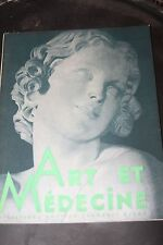 ART ET MEDECINE - Mars 1933 - Rockefeller - Faculté de Médecine de Lyon - Course