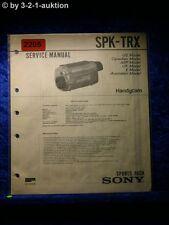 Sony Service Manual SPK TRX Handycam Sports Pack (#2205)