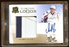 ALEXANDER OVECHKIN THE CUP AUTO /50 LIMITED LOGO  BEAUTIFUL ALEX THE GREATS AUTO
