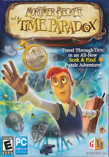 Mortimer Beckett and the TIME PARADOX Seek & Find Hidden Object PC Game NEW BOX!