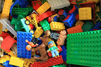 LEGO DUPLO  KNALLER !!!! 1 KG GEMISCHTE STEINE AUTOS TIERE********************