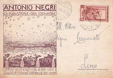 * MERATE - MONTEVECCHIA - Antonio Negri, Ex Industriale ora Sognatore 1952