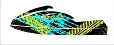 kawasaki 750 sxr sxi sx jet ski wrap graphics pwc stand up jetski decal kit 22