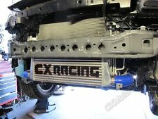 """3.5"""" Core Front Mount Intercooler Kit For 2013+ Ford Escape 2.0T New + Blue Hose"""