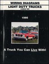 1986 GMC CK Wiring Diagram Pickup Truck Sierra Suburban Jimmy 1500 2500 3500