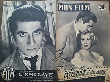 "MON FILM 1954  N 416 "" CATHERINE ET SON AMANT "" VIRGINIA MAYO et STEVE COCHRAN"