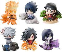 6Pcs Naruto Shippuden PVC Figure Akatsuki Kakashi Uzumaki Itachi Collection Toy