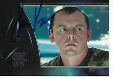 "SIMON PEGG HAND SIGNED 2009 ""STAR TREK"" #504 - SCOTTY"