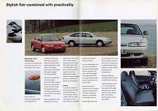 Mazda 626 1.8i LX 1994 UK Market Foldout Sales Brochure Saloon Hatchback