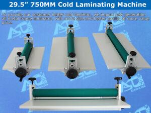 "Open Box 30"" 750MM Manual Vinyl Film Mounting Laminating Machine Cold Laminator"