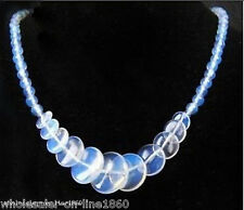 Exquisite Opal Opalite Stone Round Beads &Coin Beads Charm Beads For Necklace 17