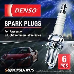 6 x Denso Spark Plugs for Ford Fairlane NA NC Fairmont Falcon EA EB ED XF LTD DC