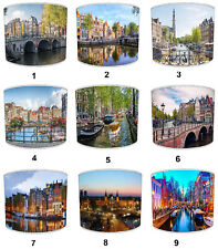 City Of Amsterdam Lampshades, Ideal To Match City Of Amsterdam Cushions & Covers