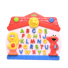 Sesame Street 1997 Tyco Lets Find Alphabet Toy Electronic Interactive Vintage