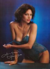 2 POSTERS: DEBORAH ZULLO - SEXY FEMALE MODEL  BLUE LINGERIE    #14-085    RC31 H