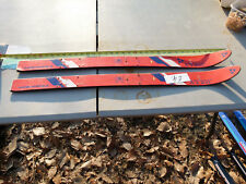 """Fisher Jolly Red Skis 35.5"""" Austria without Bindings"""
