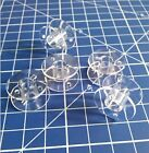 20pcs Clear Plastic Sewing Machine Bobbin 2518P for Singer Brother Janome Toyota