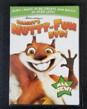 Hammy's Nutty-Fun (Kids New DVD + DVD-ROM) DreamWorks FUN FUN FUN! Free Shipping