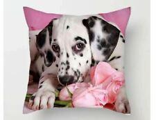 Naughty cute Dalmation puppy dog  photo  Cushion Cover  45cm