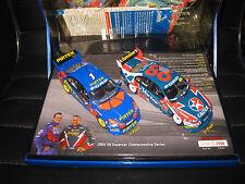 CLASSIC 1/43 AMBROSE / INGALL  1-2 FINISH 2004 TWIN SET  V8 CHAMPIONSHIP  #43615