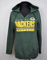 GREEN BAY PACKERS Medium Women Hoodie NFL American Football Ladies Sweater Top