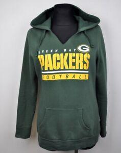 GREEN BAY PACKERS Women M Hoodie NFL American Football Sweatshirt Ladies Sweater