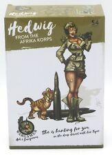 Wargamer HD-03 Hedwig From the Afrika Korps (54mm Resin) Hot & Dangerous Female