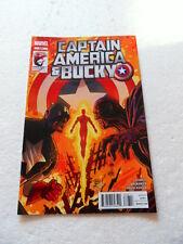 Captain America And Bucky 628 .  Marvel 2012 -  VF