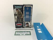 """Custom Vintage Star Wars Esb 12"""" de Luke Skywalker: Bespin Caja Versión Moderna + Insertos"""