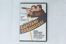 DVD CAPITANI CORAGGIOSI WARNER BROS 1937 RUDYARD KIPLING [ST-018]