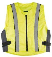 GERMAS vest moto Gilet de sécurité jaune fluo taille XXL