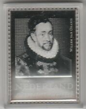 Nederland NVPH 2878 Zilveren zegel Willem v Oranje in zilver in capsule Postfris