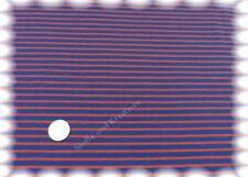 Campan Baumwoll Jersey Hilco royalblau rot 50 cm Streifenjersey